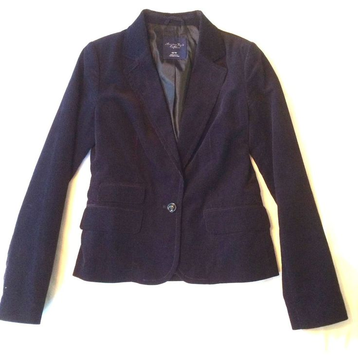 Women s American Eagles Outfitters Navy Cotton Corduroy Lined Blazer Size  XS EUC. 536 best Fresh   Again Fashion   Home Goods  eBay clothing  shoes