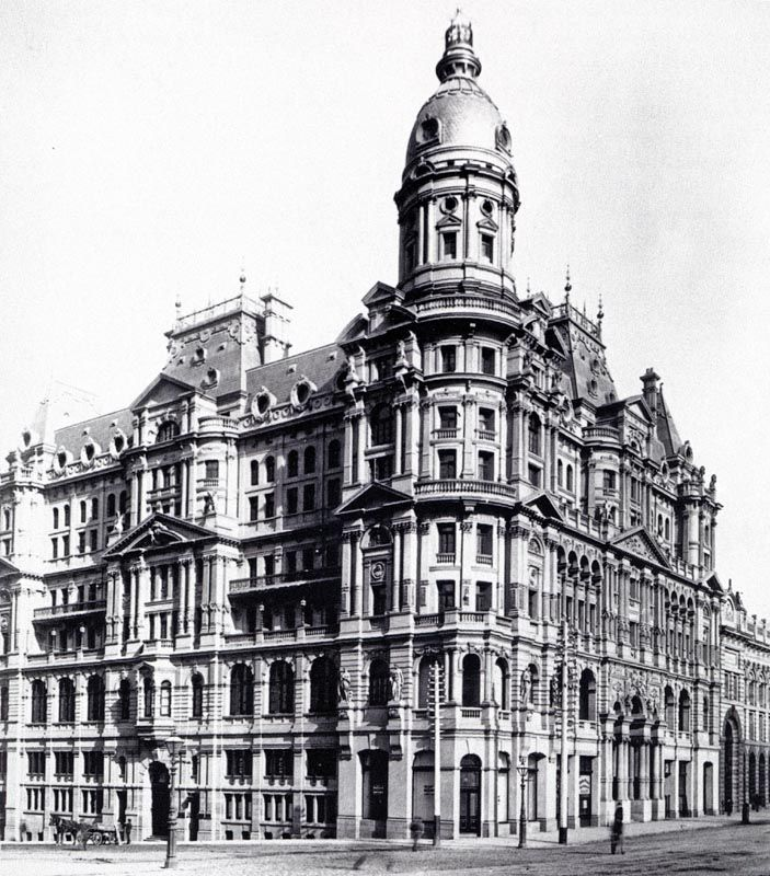 Federal Coffee Palace, Melbourne, Australia. 1888, demolished 1973.