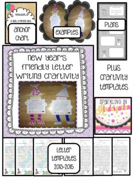 14 best school new years images on pinterest classroom ideas new years resolution friendly letter writing craftivity spiritdancerdesigns Choice Image