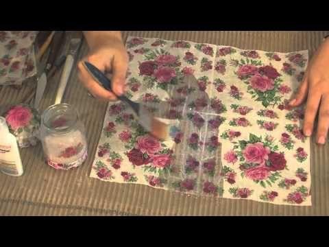 MONITOR   Karina Cardozo   enseña técnica con producto ENTELA   Manos a la Obra - YouTube