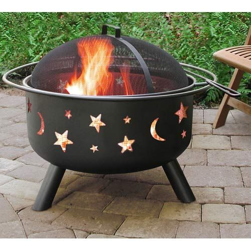 Big Sky Fire Pit- Stars and Moons
