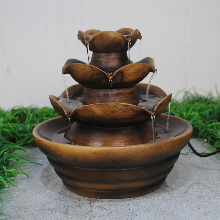 peeing indoor water fountain