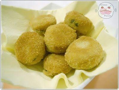 Crema e panna: Polpette di patate e tonno