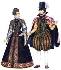Испанский костюм в эпоху возрождения