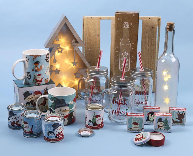 Articulos variados para decorar tu casa por Navidad #navidad #nadal #tazas #botellas #jarras #iluminación #lipbalm #brillo #labios #regalos #originales #christmas