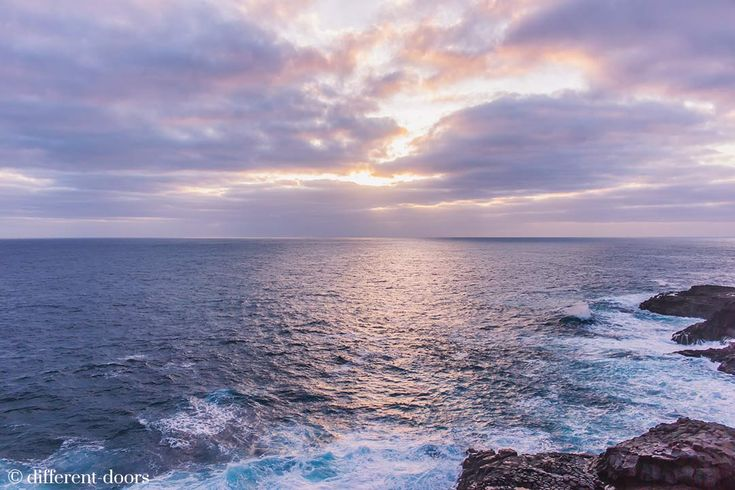 Reasons to drive through Australia - This sunset moment at Cape Bridgewater on the Great Ocean Road (and many more in the link)