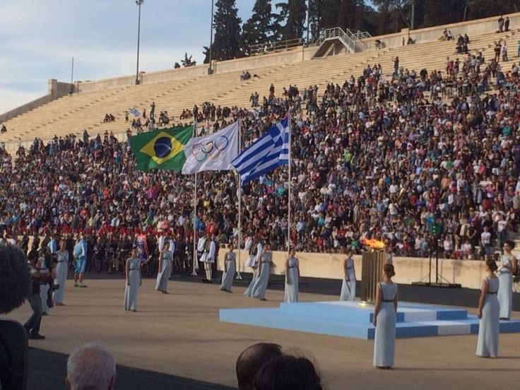 Rio 2016: Greece Hands Over Olympic Flame to Brazil