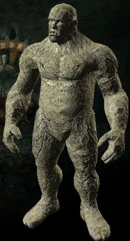 Golem - clay monster of Jewish folklore