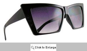Trek Vintage Angular Sunglasses - 403 Black