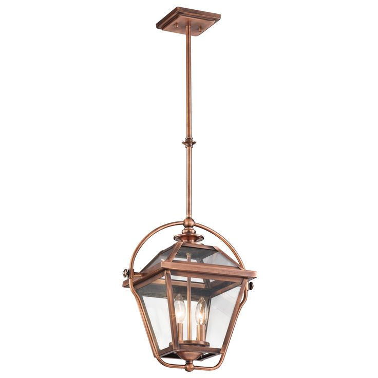 $181 Bring the outdoor lantern lighting look into your home by adding Kichler Ryegate. These indoors-only lights look just like their outdoor counterparts and are inspired by when a Kichler designer discovered a gas lantern, still operational, outside an old h