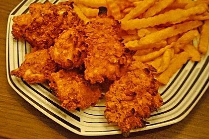 Knusprig - leichte Chicken Nuggets
