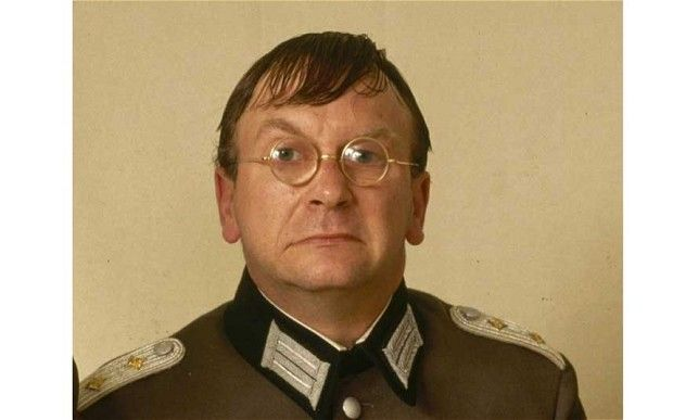 Sam Kelly as Captain Hans Geering in Allo, Allo!