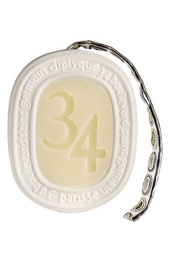 diptyque '34' Scented Oval | Nordstrom how did I not know about this? I want this for my office/closet/maybe even garage... shouldn't it smell nice when I get out of my car?