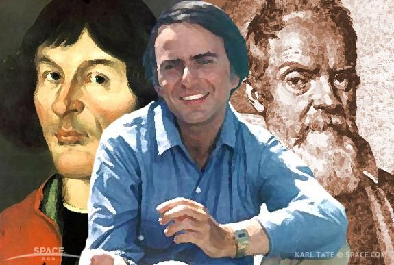 Carl Sagan..one of the best astronomers of history