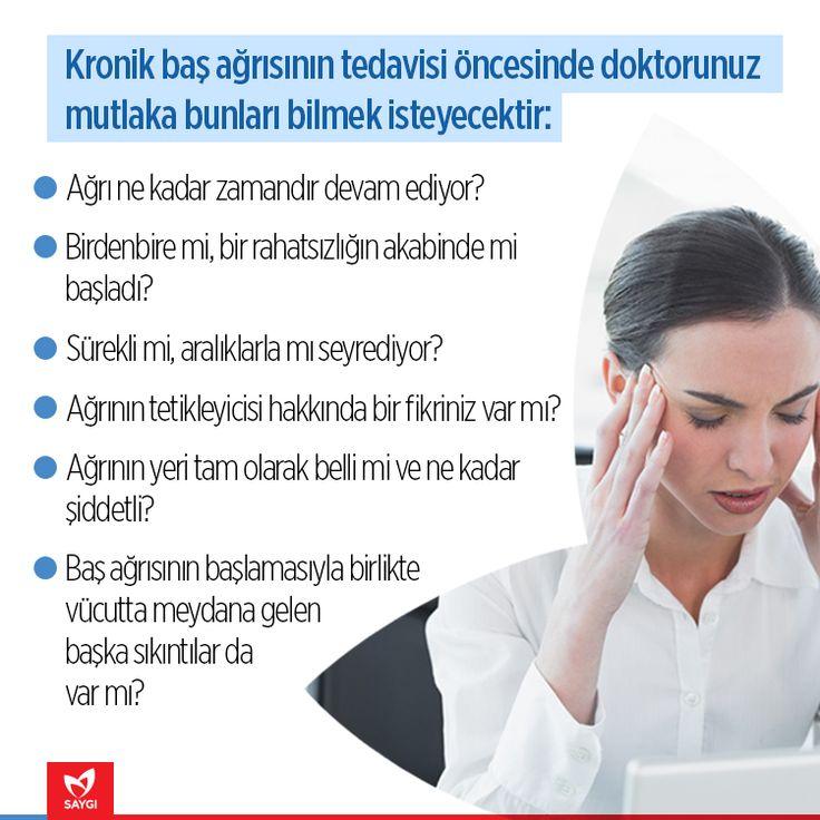 Baş ağrınızı ne kadar tanıyorsunuz? #saygihastanesi #kronikagri #saglik #saglikipuclari #basagrisi #migren