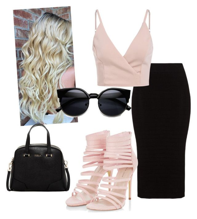 sexy everday outfit by megan-osh on Polyvore featuring polyvore fashion style Mat Furla clothing