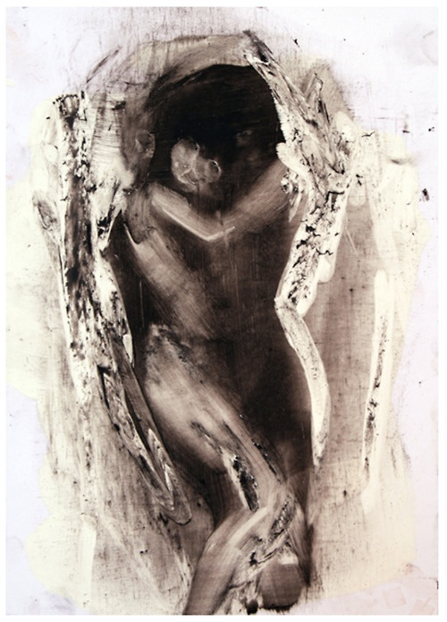 """"""" A Small Painting of What I Think Love Looks Like """"                                                      by Antony Micallef"""