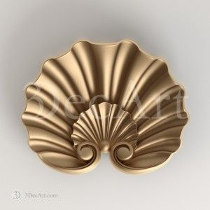 Sl_001 | 3d model of carved shell