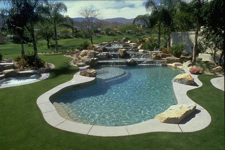 52 best backyard ideas images on pinterest backyard ideas garden ideas and pools for Natural swimming pools los angeles