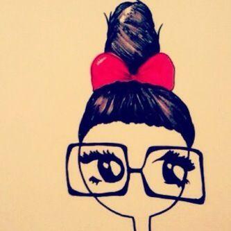 Geek Chick? #nerd #girl #glasses