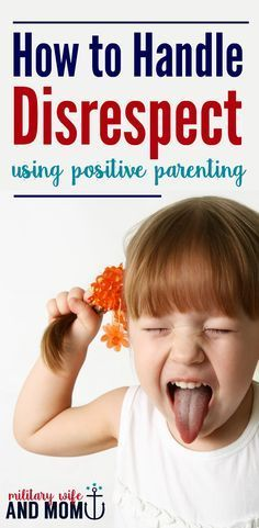 How to handle disrespect and back talk using a calm and steady positive parenting approach. 3 simple steps. via /lauren9098/