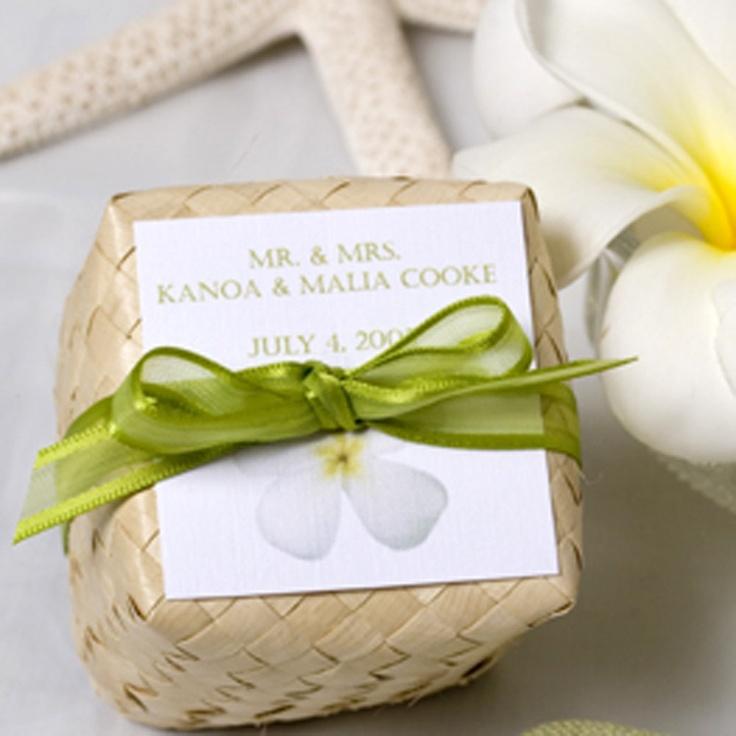 Tropical Wedding Favors Wedding Decor Ideas