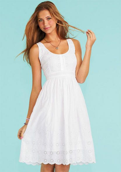 1000  ideas about White Sundress on Pinterest | Sundresses ...