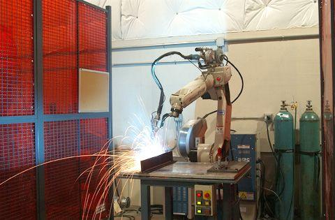 robotic welding arm