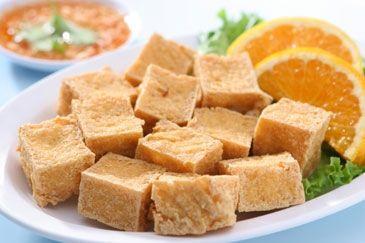 Kerrietofu met sinaasappelsaus: http://www.gezondheidsnet.nl/wat-eten-we-vandaag/recepten/8507/kerrietofu-met-sinaasappelsaus #recept