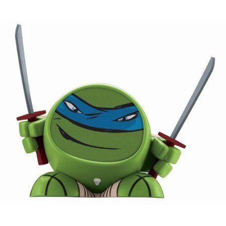 Nickelodeon Ninja Turtles iHome Bluetooth Speaker, Leonardo