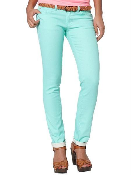 Бирюзовые джинсы интернет магазин