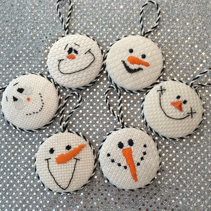 Finishing fun, loved finishing these cute snowmen faces. Models for online…
