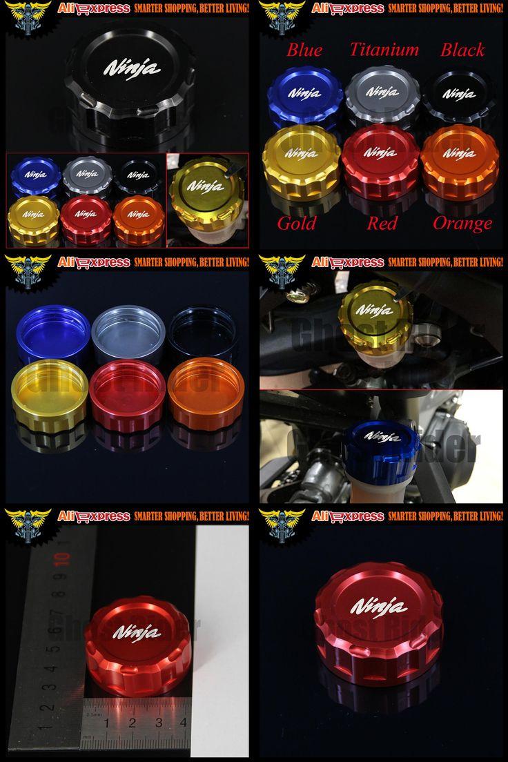 [Visit to Buy] Hot sales High Quality Motorcycle CNC Rear Brake Reservoir Cover Cap For Kawasaki NINJA H2R NINJA 250SL ABS NINJA 300 ABS  #Advertisement