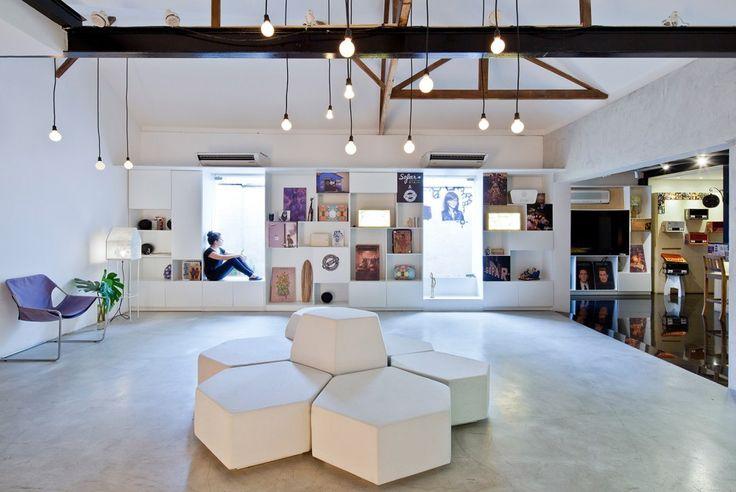 Collab Areas - crit space - Bediff Exhibition Space / Estudio BRA arquitetura