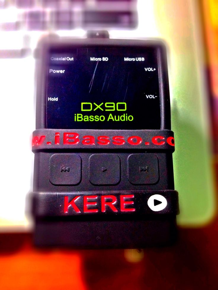My lovely iBasso DX90 digital audio player