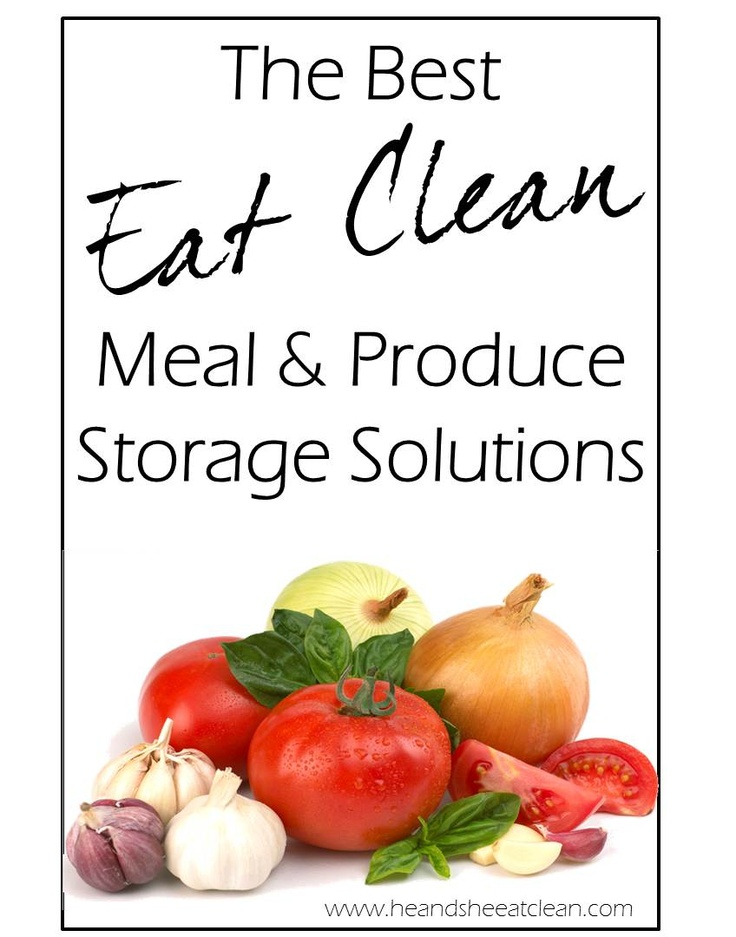 FIT Finds :: Eat Clean Food Storage