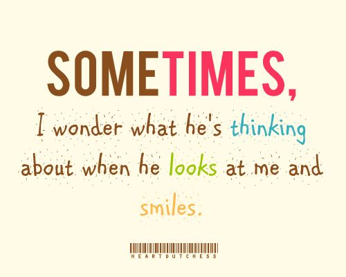 When He Looks At Me Love Romance