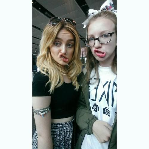 1000+ images about +PERRIE EDWARDS+ on Pinterest ... Perrie Edwards With Fans