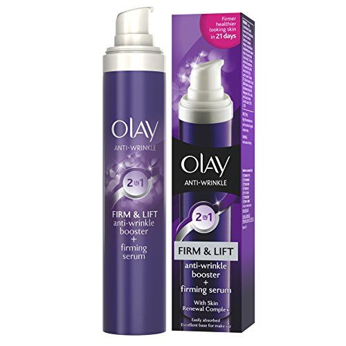 From 4.59:Olay Anti Wrinkle Firm And Lift 2-in-1 Day Cream And Firming Serum 50 Ml