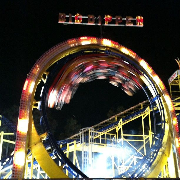 "@sophierbarratt's photo: ""@royaladelaideshow #showntell rollercoaster in action!"""
