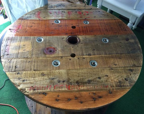 Wire Spool Table (Gainesville, Florida)