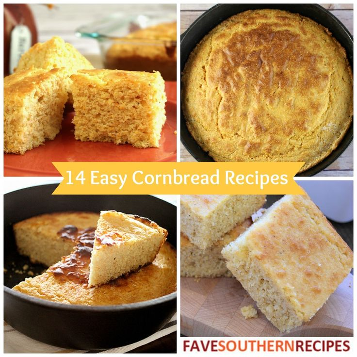 14 Easy Cornbread Recipes: The Best Southern Cooking Recipes for Cornbread