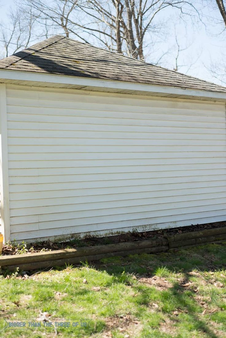 How to clean siding without a power washer clean siding