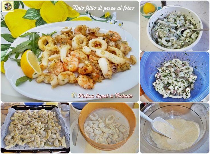 Finto fritto di pesce al forno Blog Profumi Sapori & Fantasia