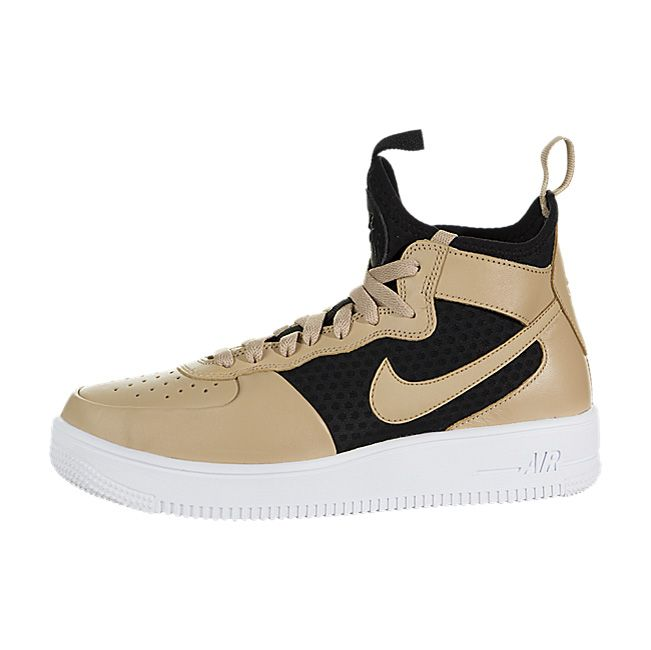 4309808b0bc92 Nike Women's Air Force 1 Ultraforce Mid - Vachetta Tan / Vachetta ...