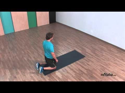 Test específico de fuerza abdominal o test de la plancha - YouTube