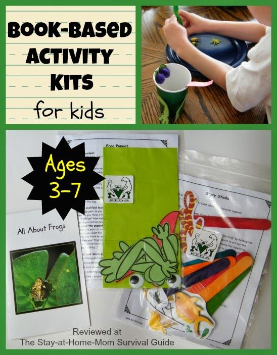 book based activity kits for kids ivy kids review