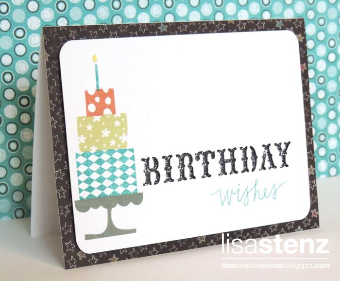 Lisa's Creative Corner: Artfully Sent Birthday Cards