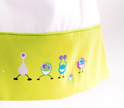 Oogle Boogle Alien Linen #cot#linen#alien#boy#nursery#playroom#babylinen#cotton#green#interiors#design#decor#babyroom