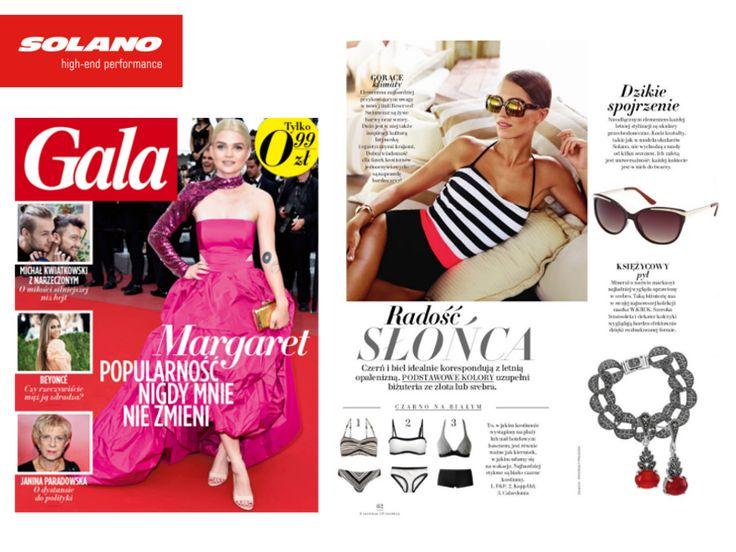 Gala Magazine #eyewear #solanoeyewear #magazine #fashion #sunglasses